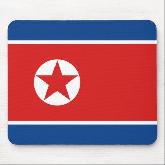 Bandera Mousepad de Corea del Norte Tapete De Raton