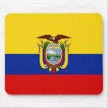Bandera Mousepad de Ecuador