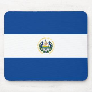 Bandera Mousepad de El Salvador Tapete De Ratón