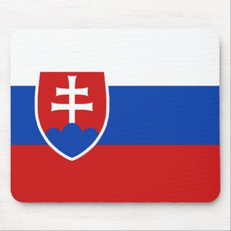 Bandera Mousepad de Eslovaquia Tapetes De Ratones