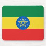 Bandera Mousepad de Etiopía Tapetes De Ratones