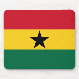 Bandera Mousepad de Ghana Tapete De Raton