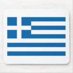 Bandera Mousepad de Grecia Alfombrillas De Raton