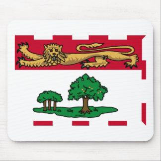 Bandera Mousepad de Isla del Principe Eduardo Alfombrillas De Ratón