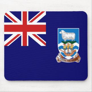 Bandera Mousepad de Islas Malvinas Alfombrilla De Ratón