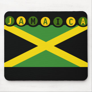 Bandera Mousepad de Jamaica