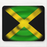 Bandera Mousepad de Jamaica Alfombrilla De Ratón