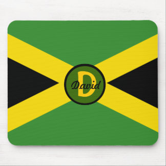 Bandera Mousepad de Jamaica del monograma