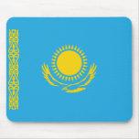 Bandera Mousepad de Kazajistán Alfombrillas De Ratones