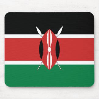 Bandera Mousepad de Kenia