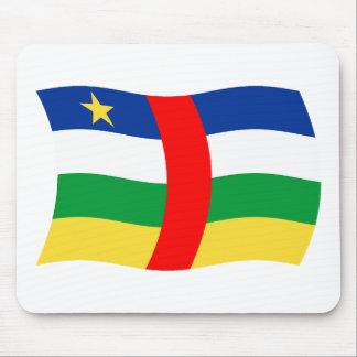 Bandera Mousepad de la República Centroafricana