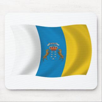 Bandera Mousepad de las islas Canarias
