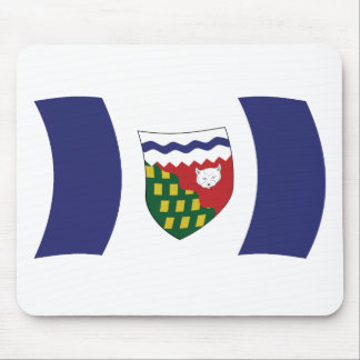Bandera Mousepad de los territorios del noroeste