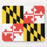 Bandera Mousepad de Maryland Tapete De Raton