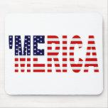 'Bandera Mousepad de MERICA los E.E.U.U.