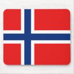 Bandera Mousepad de Noruega