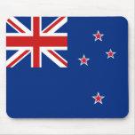 Bandera Mousepad de Nueva Zelanda