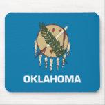 Bandera Mousepad de Oklahoma Tapetes De Raton