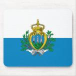 Bandera Mousepad de San Marino