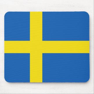 Bandera Mousepad de Suecia Alfombrillas De Ratón