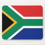 Bandera Mousepad de Suráfrica Alfombrillas De Raton