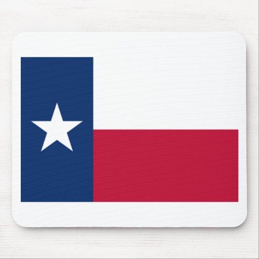 Bandera Mousepad de Tejas