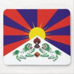 Bandera Mousepad de Tíbet Tapete De Ratones
