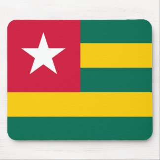 Bandera Mousepad de Togo