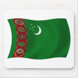 Bandera Mousepad de Turkmenistán Tapete De Raton