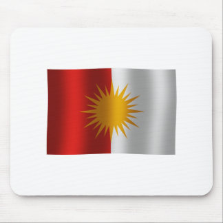 Bandera Mousepad de Yezidi