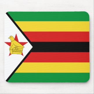 Bandera Mousepad de Zimbabwe Alfombrillas De Ratón