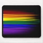 Bandera Mousepad del arco iris Tapete De Ratón