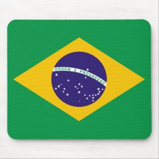 Bandera Mousepad del Brasil