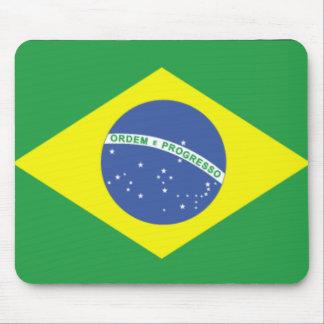 Bandera Mousepad del Brasil/del Brasil Alfombrilla De Ratones