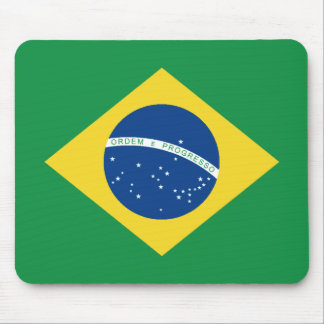 Bandera Mousepad del Brasil Alfombrilla De Raton