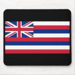 Bandera Mousepad del estado de Hawaii Tapetes De Ratones