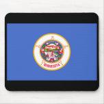 Bandera Mousepad del estado de Minnesota Tapetes De Ratones