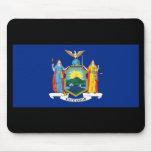Bandera Mousepad del Estado de Nuevo York Tapetes De Ratones