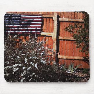 Bandera Mousepad del jardín