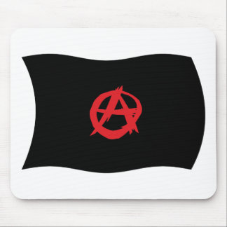 Bandera Mousepad del movimiento del anarquista Alfombrilla De Ratones