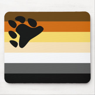 Bandera Mousepad del oso Alfombrilla De Ratones