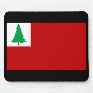 Bandera Mousepad del pino de Nueva Inglaterra
