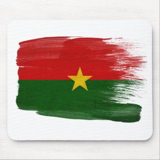 Bandera Mousepads de Burkina Faso