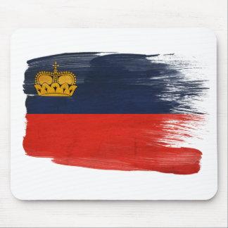 Bandera Mousepads de Liechtenstein