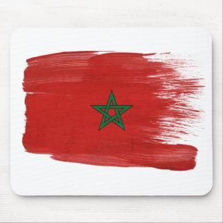 Bandera Mousepads de Marruecos