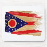 Bandera Mousepads de Ohio Tapetes De Raton