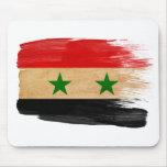 Bandera Mousepads de Siria Tapetes De Ratones