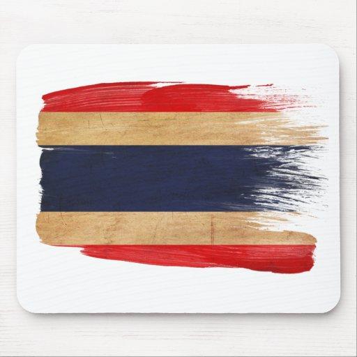 Bandera Mousepads de Tailandia Tapetes De Raton