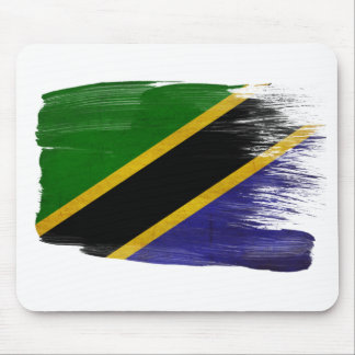 Bandera Mousepads de Tanzania