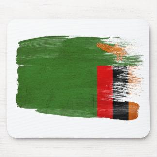 Bandera Mousepads de Zambia